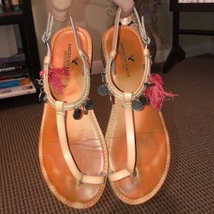 TWO FOR ONE AMERICAN EAGLE SANDALS